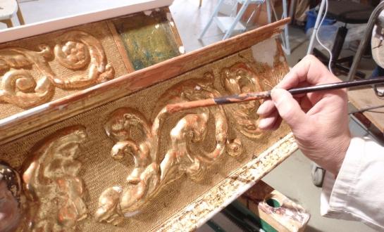 Restauration d'éléments de retable (mobilier religieux)_5