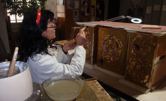 Restauration d'éléments de retable (mobilier religieux)_8